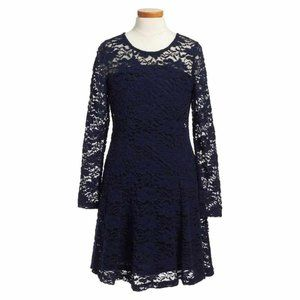 Ten Sixty Sherman Floral Lace Fit & Flare Dress